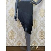 《BY TERRY佳衯自創》不規則流蘇下擺半身裙